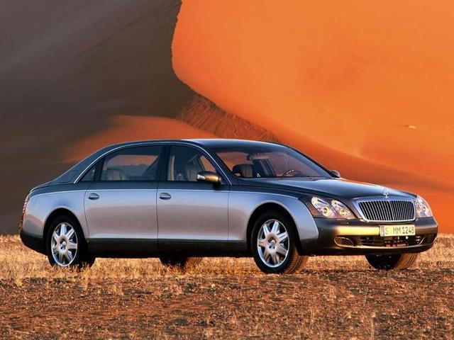 Luxury Car Evolution 2002 Maybach 5762 Carbuzz