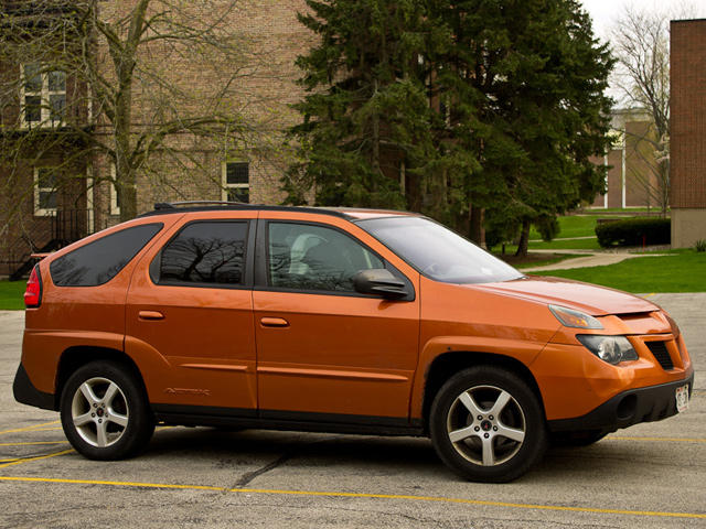 9 & Biggest Automotive Missteps: Pontiac Aztek - CarBuzz