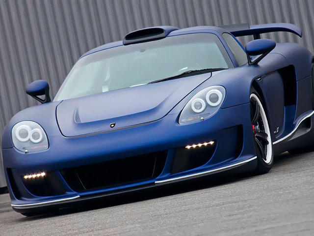 Gemballa Mirage GT Matt Blue Edition - CarBuzz