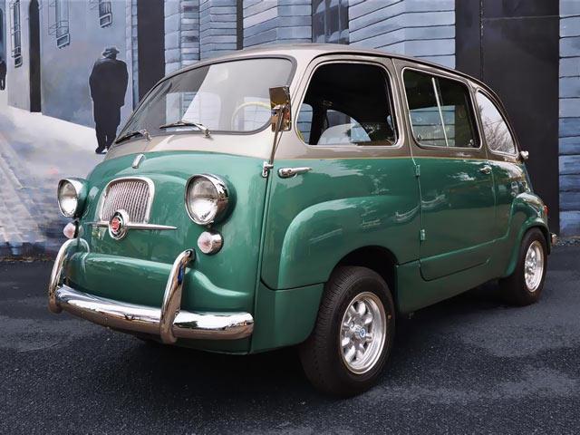 Custom Fiat 600 Multipla Microvan - A Taste of Italian ...
