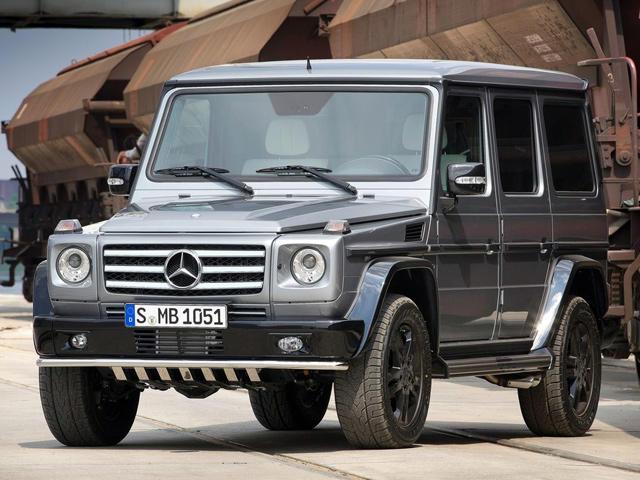 Mercedes Planning Baby GLG SUV - CarBuzz