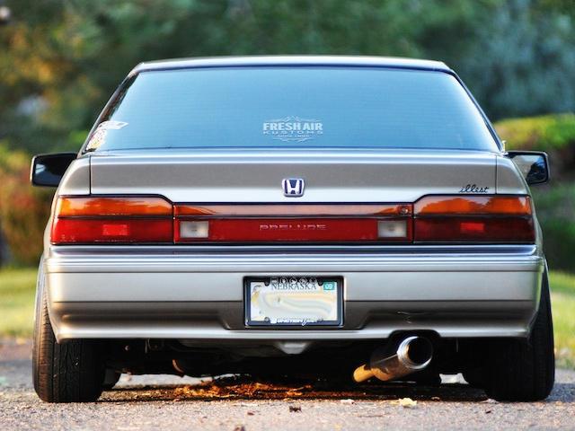on 1985 Honda Prelude Engine