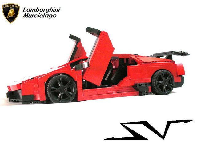4 Sublime Lego Lamborghinis Carbuzz
