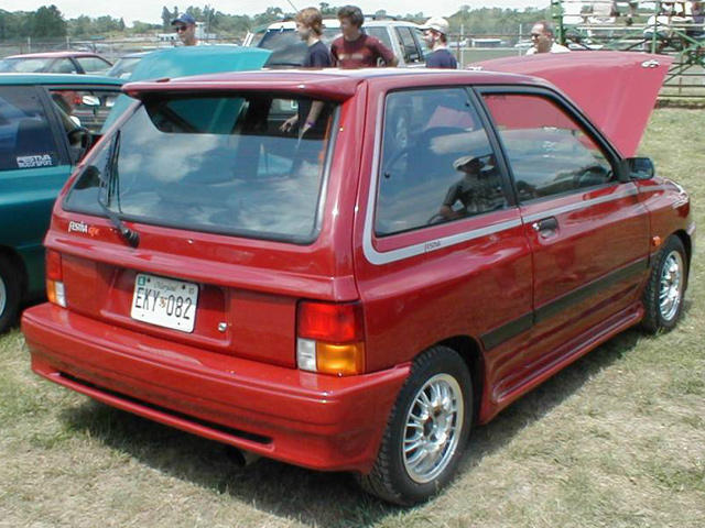 Horrible Small Cars Ford Festiva Aspire