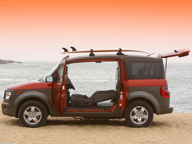 Element Car: Cars Nobody Asked For: Honda Element