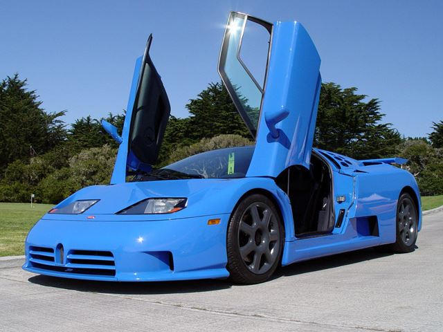 expensive failures: bugatti eb110 - carbuzz