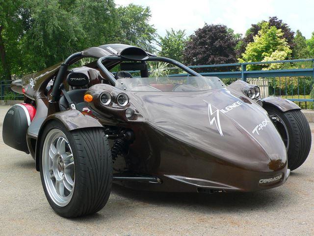 Three-Wheeled Cars: Campagna T-Rex - CarBuzz