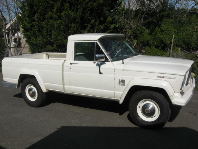 Unearthed 1967 Jeep Gladiator J2000 Carbuzz