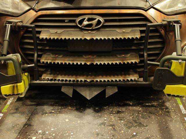 Walking Dead Hyundai Veloster Zombie Survival Machine Is Epic Carbuzz