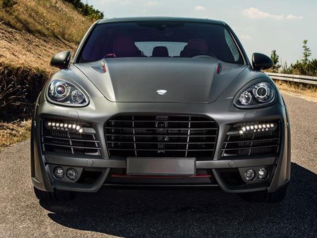 techart's magnum kit for the porsche cayenne turbo s - carbuzz