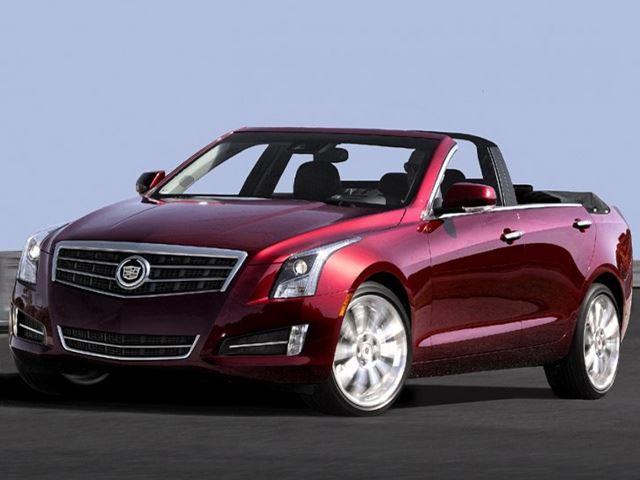 Cadillac ATS Convertible Rendered - CarBuzz