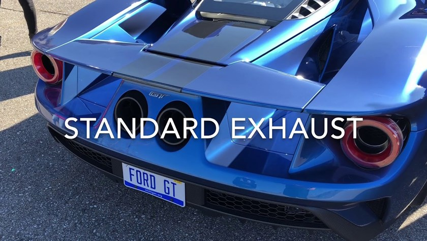 Can The Titanium Exhaust Make The Ford Gt Sound Better Than A V Carbuzz