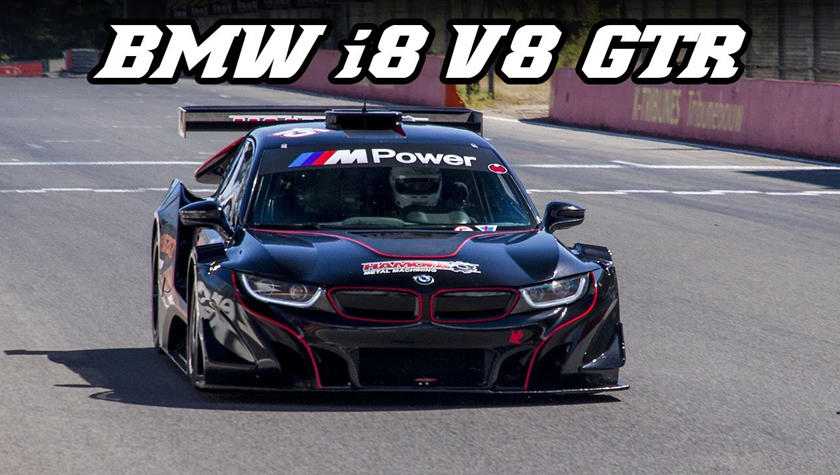 This Racing Team Swapped A Bmw I8 S Hybrid System For A 550 Hp V8